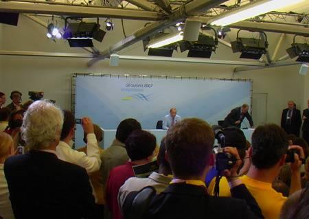 Thomas Roth lauscht Wladimir Putin