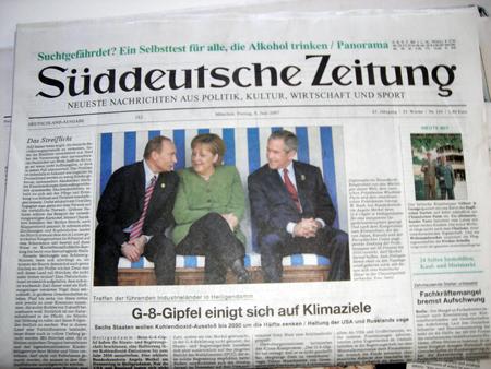 تحلیل ها و بررسی های استراتیژیک Sueddeutsche